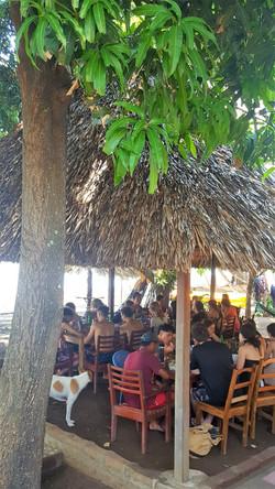 Caballito's mar restaurant lunch