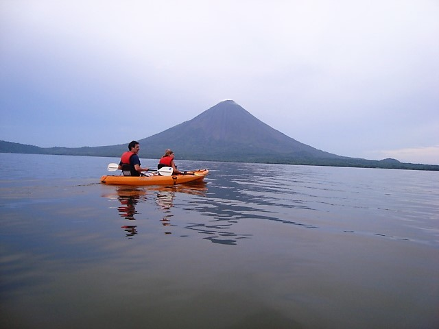 Volcano's view from the lake