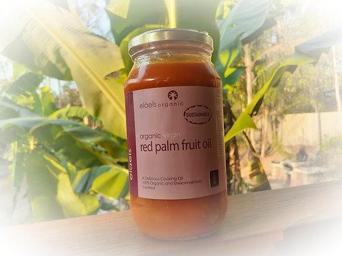 Organic Virgin Red Palm Fruit Oil   500ml