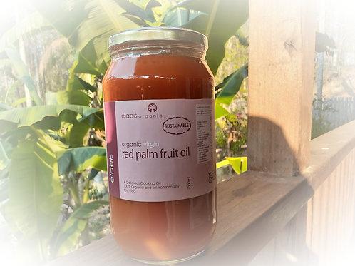 Organic Virgin Red Palm Fruit Oil 1000ml