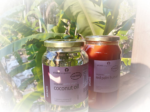 Organic Coconut & Palm Oil Combo
