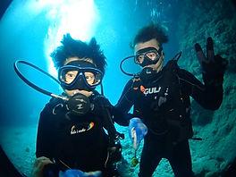 青の洞窟ダイビングの写真