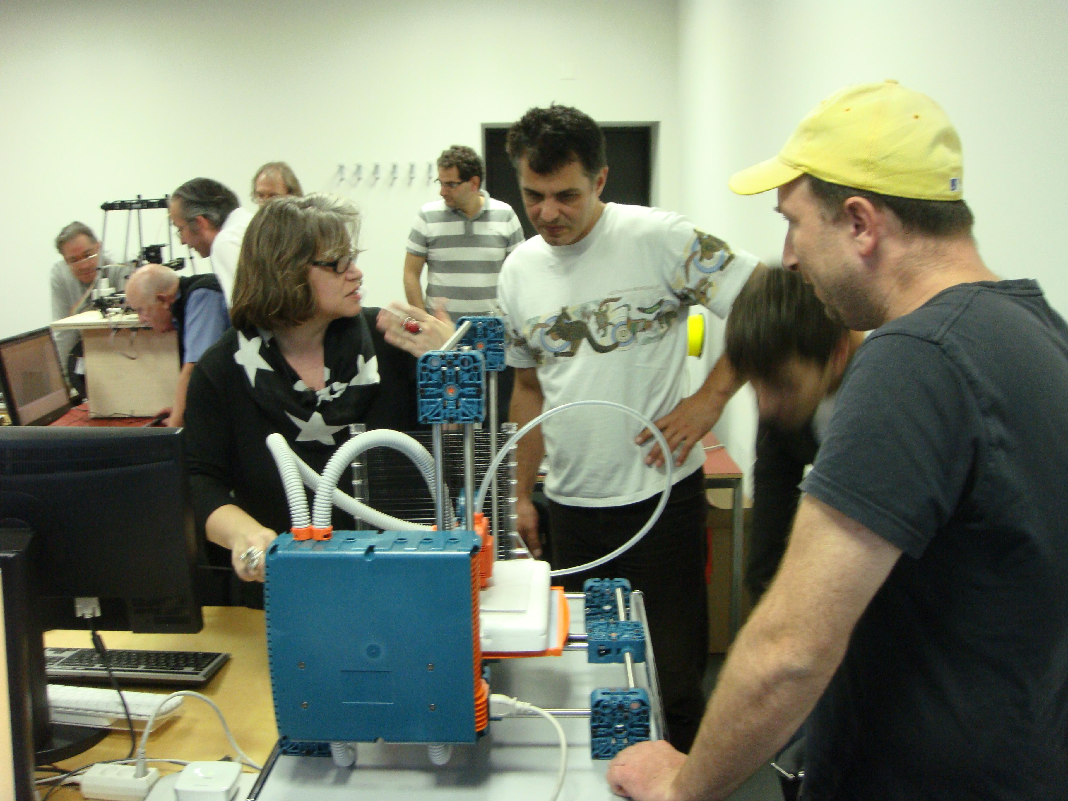 3D-Drucker in Betrieb nehmen