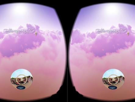 Disneyland Paris choose BEMERSIVE for VR social sharing  experience !