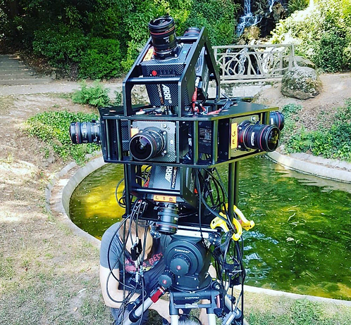 BEMERSIVE CREATES VERY HIGH QUALITY 16K 360 CAMERA RIG WITH