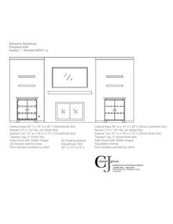Concept design wall elevations