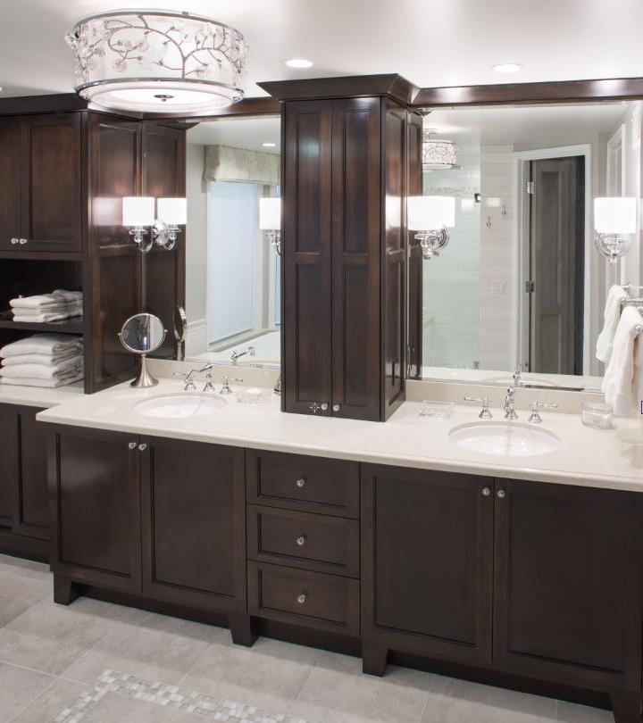 Master bathroom remodel.