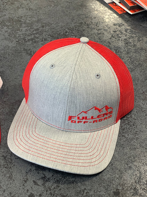 Red/Gray Fullers Offroad Hat