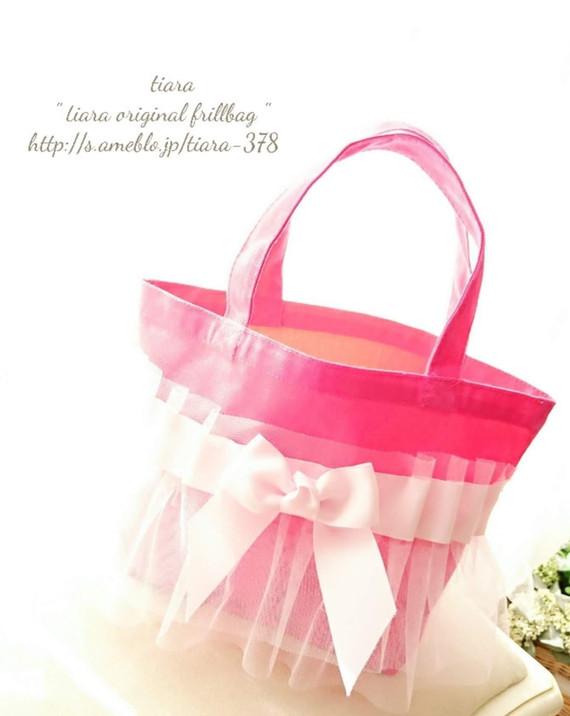 ♥横型チュールバッグ♥