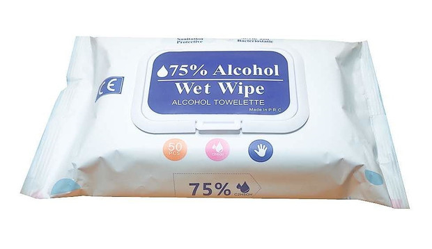 Hand Sanitiser Wipes (Packet of 50)