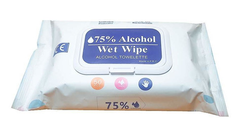 Hand Sanitiser Wipes (Packet of 50)