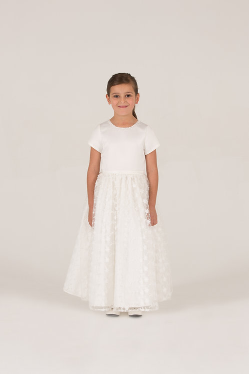 STYLE NO 7018 FLOWER GIRL / COMMUNION DRESS