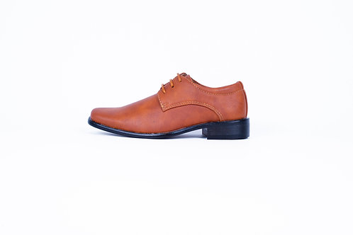 TX1126 Tan Boys Shoe