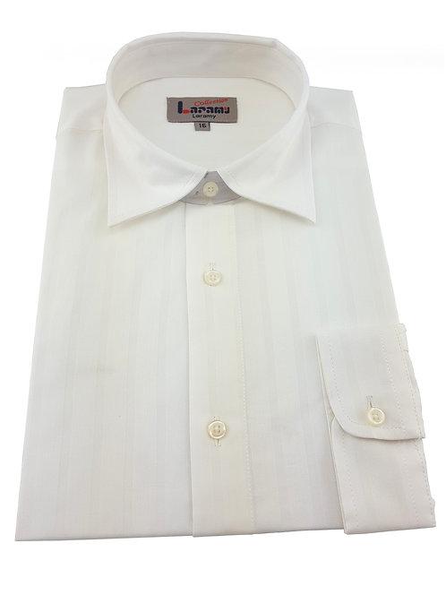 Boys Ivory Stripe Shirt