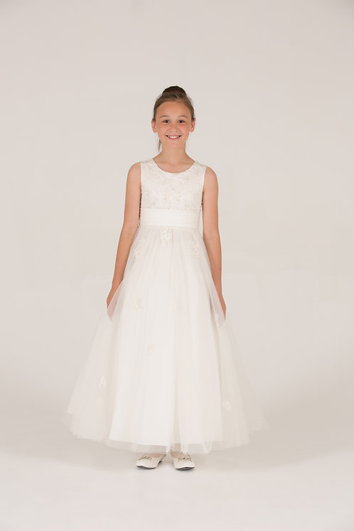 STYLE NO 6084 COMMUNION/ FLOWER-GIRL DRESS
