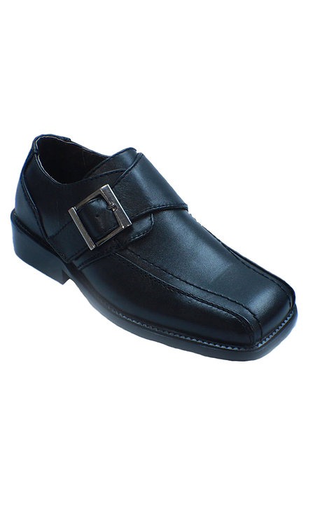 TX1222 BUCKLE DRESS SHOE (TEEN SIZE)