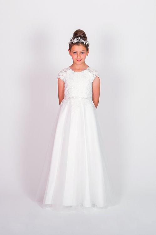 STYLE NO 6117 COMMUNION/ FLOWER-GIRL DRESS