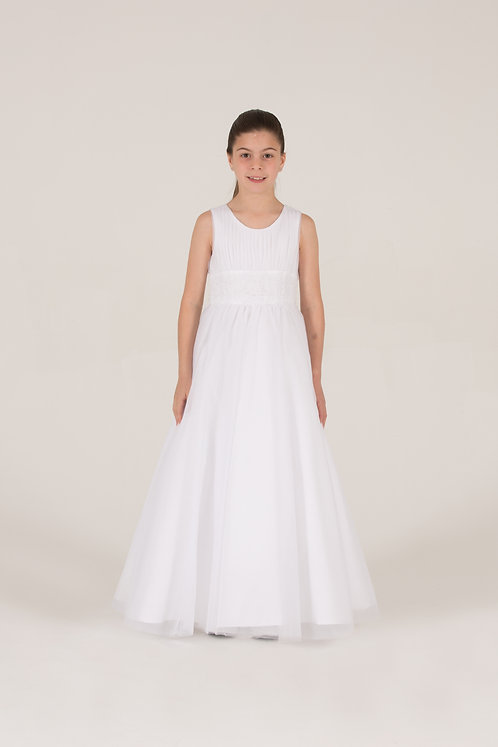 STYLE NO 6077 COMMUNION/ FLOWER-GIRL DRESS