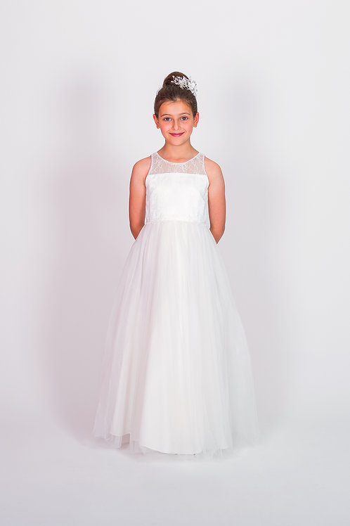 STYLE NO 6114 COMMUNION/ FLOWER-GIRL DRESS