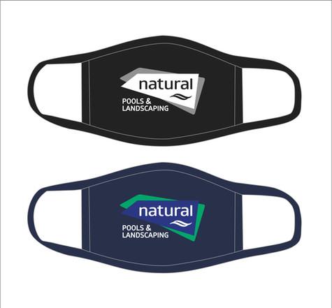 Natural Pools & Landscaping Face Mask
