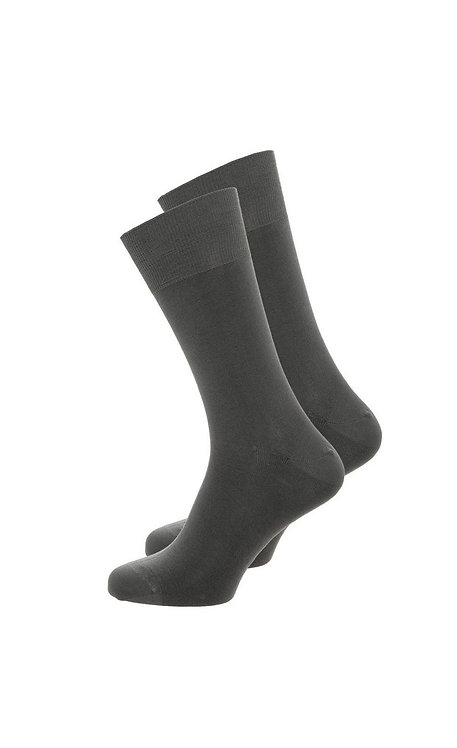 1011 BLACK DRESS SOCKS SIZES 2 TO 8