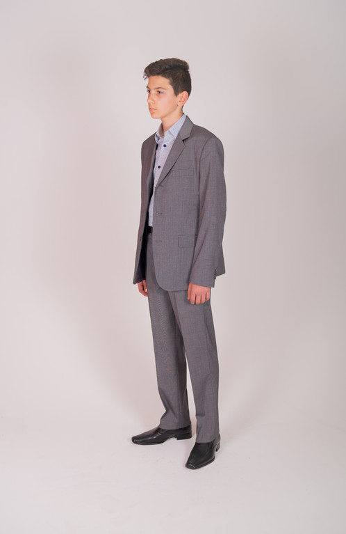 STYLE NO 470 GREY FULL SUIT | La Vici Kids | Childrens Formal Wear ...