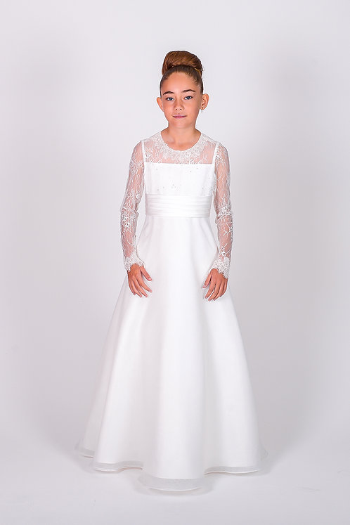 STYLE NO 6112 COMMUNION/ FLOWER-GIRL DRESS