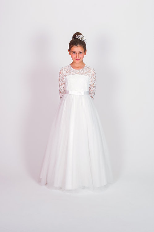 STYLE NO 6116 COMMUNION/ FLOWER-GIRL DRESS