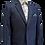 Thumbnail: Style No. 473 Blue Check Boys Suit