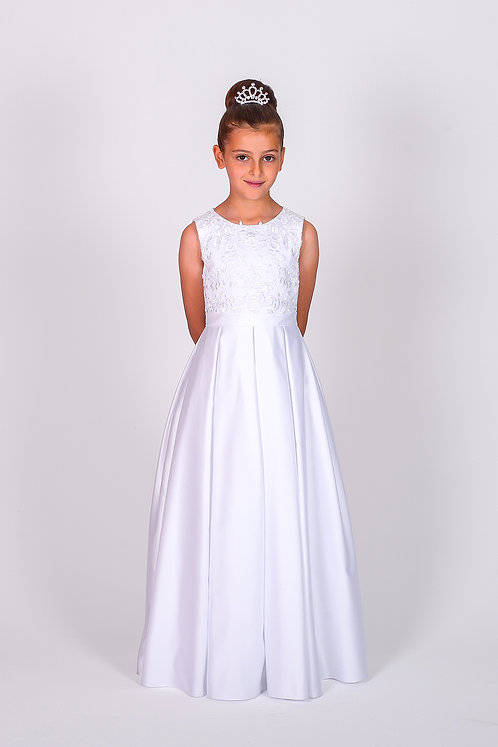 STYLE NO 6108 COMMUNION/ FLOWER-GIRL DRESS