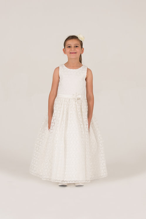 STYLE NO 7016 FLOWER GIRL / COMMUNION DRESS