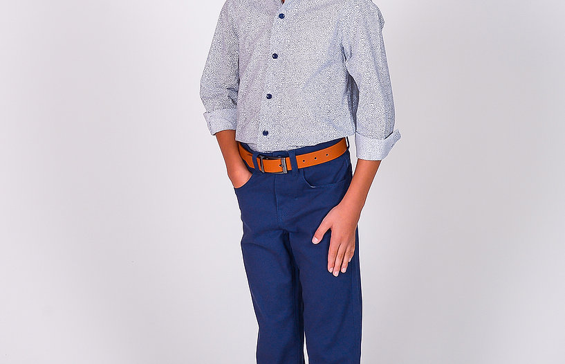 472 Chino Pant with M006 Brown Belt