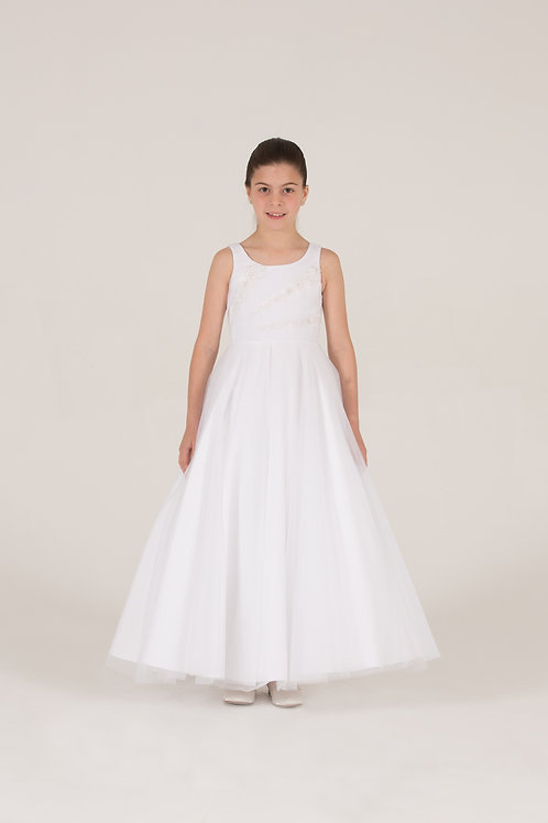 STYLE NO 6072 COMMUNION/ FLOWER-GIRL DRESS