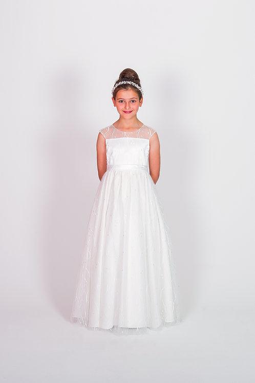 STYLE NO 6119 COMMUNION/ FLOWER-GIRL DRESS