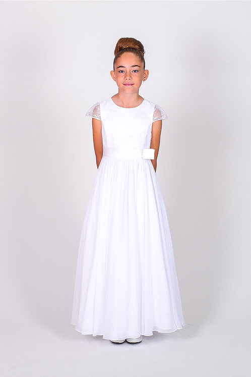 STYLE NO 6110 COMMUNION/ FLOWER-GIRL DRESS