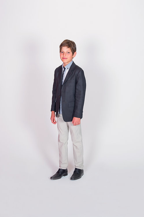 STYLE 628 BOYS LINEN SPORTS JACKET