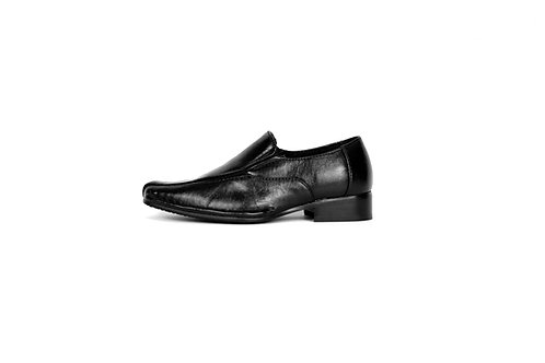 TX1123 Black Boys Slip-on Shoe
