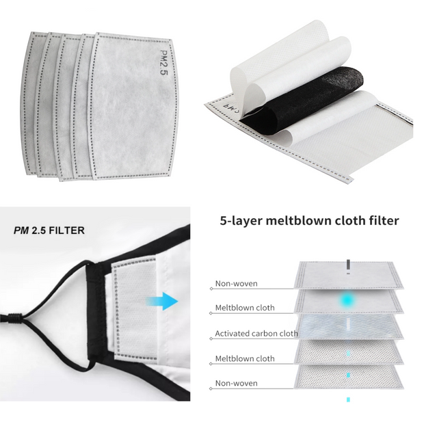 Disposable 5 Layer Cloth Filters