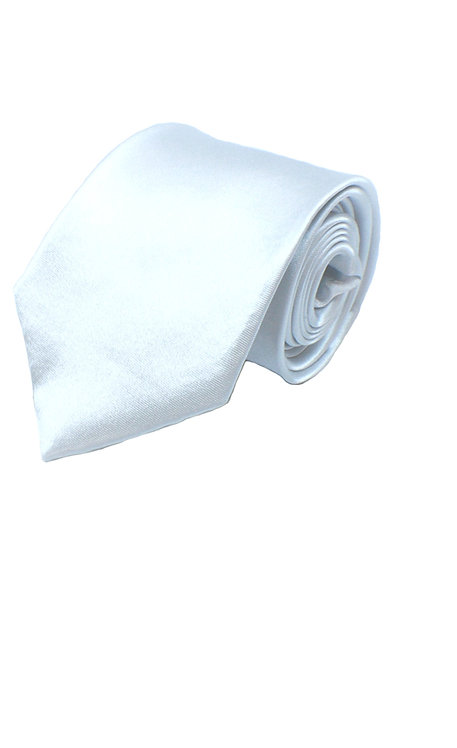 1005 BOYS SATIN PLAIN IVORY FORMAL TIE