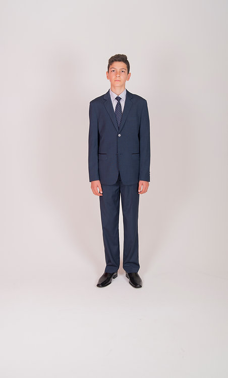 Style No. 470 Navy Boys Suit