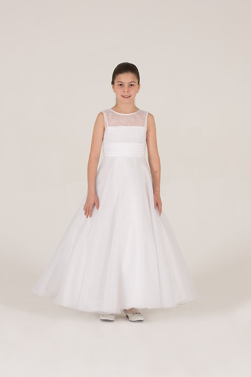 STYLE NO 6074 COMMUNION/ FLOWER-GIRL DRESS