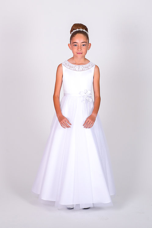 STYLE NO 6102 COMMUNION/ FLOWER-GIRL DRESS