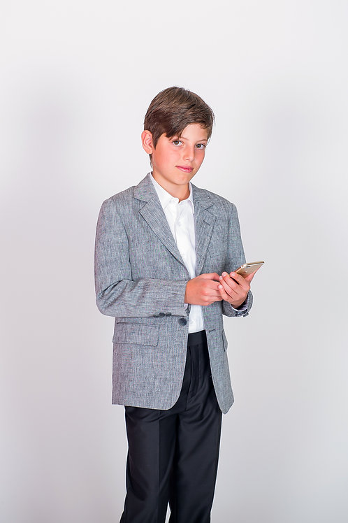 STYLE 625 BOYS LINEN SPORTS JACKET
