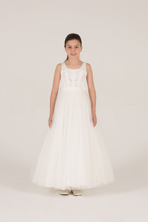 STYLE NO 6071 COMMUNION/ FLOWER-GIRL DRESS