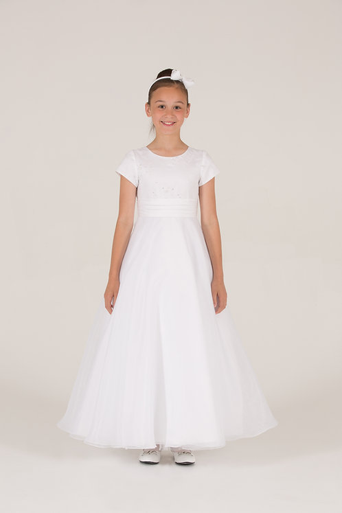 STYLE NO 6104 COMMUNION/ FLOWER-GIRL DRESS