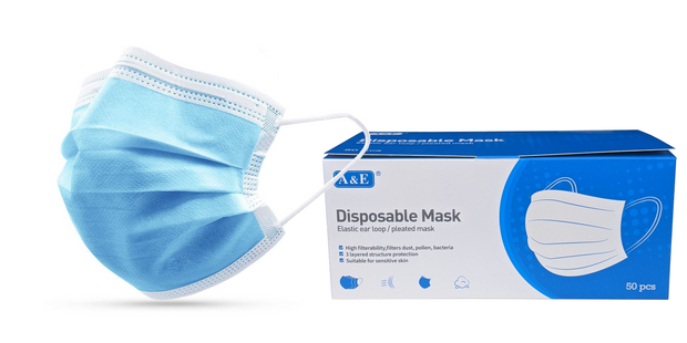 Disposable Masks ( Box of 50)
