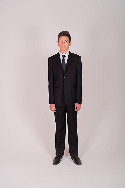 Style No. 403 Black Boys Suit
