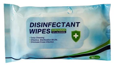 Hand Sanitiser Wipes (Packet of 10)