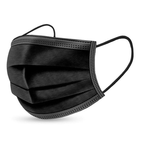 Black Disposable Masks ( Box of 50)