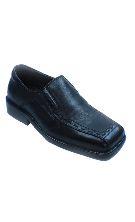 TX1120 BLACK SLIP ON SHOE (TEEN SIZE)